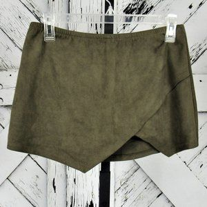 Gypsy Rose Faux Suede Skort